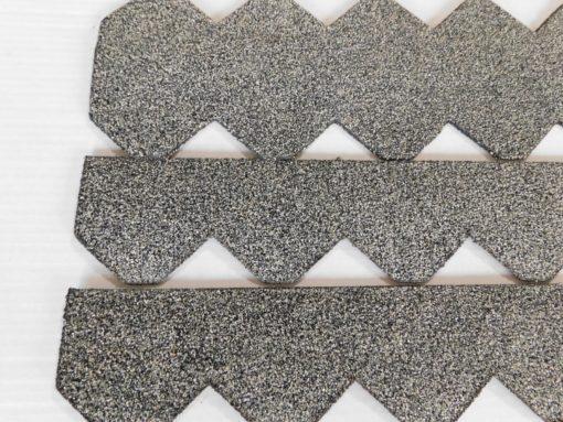 K1600_1 Set Dachschindeln Schiefer (55 mm) grau (5)